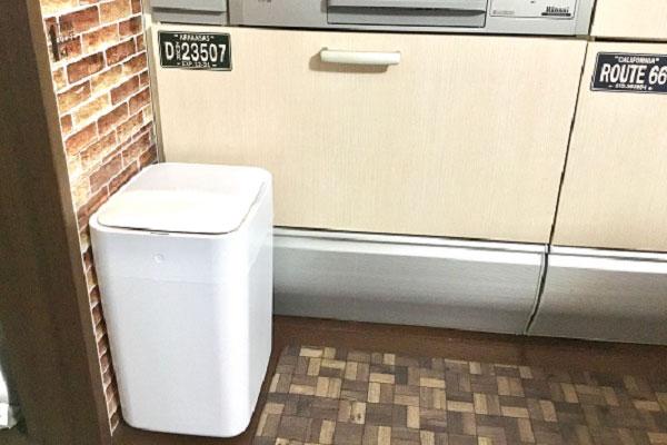 ゴミに完全非接触・密閉!次世代のゴミ箱「スマートトラッシュボックス」