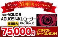 AQUOS 20周年キャンペーン