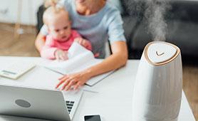 赤ちゃんにおすすめの加湿器6選【2021】抗菌や安全にこだわったモデルを選ぼう