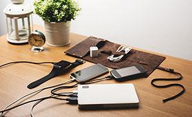モバイルバッテリーの大容量モデルのおすすめ17選 スマホやパソコンの電池切れ対策に便利
