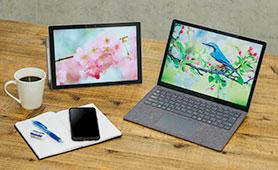 充実した学生生活をサポート。さまざまな用途に応えるSurface Pro 7 & Laptop 3