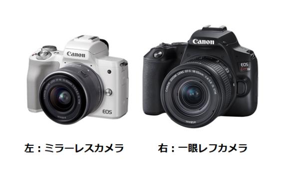 【カメラの基礎知識】一眼レフカメラとミラーレスカメラって何が違うの?