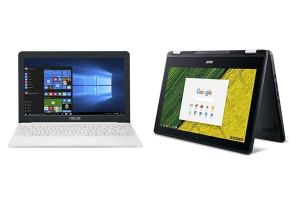安いノートパソコンを選ぶ前に押さえておくポイント WindowsやChromeのOSならお手頃モデルが充実