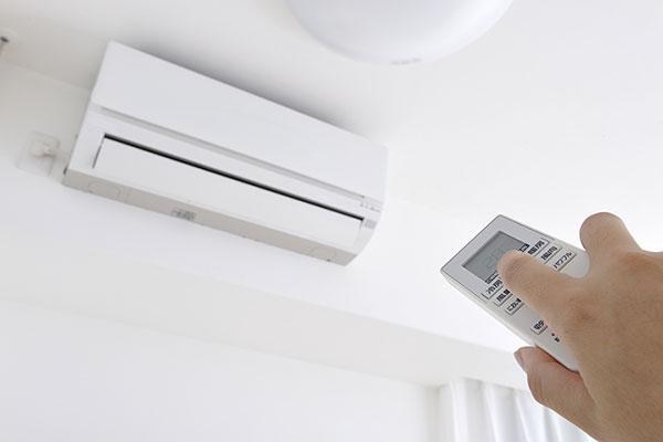 エアコンを使用しているイメージ