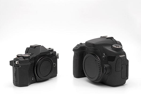 一眼レフカメラとは 一眼レフカメラとミラーレス一眼の違い