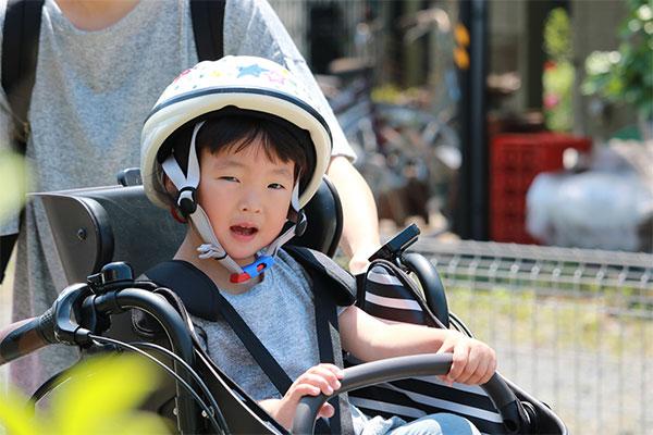 子ども乗せタイプはここも確認 チャイルドシートの位置