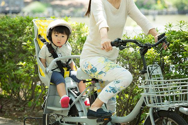 電動アシスト自転車のタイプ 子ども乗せタイプ