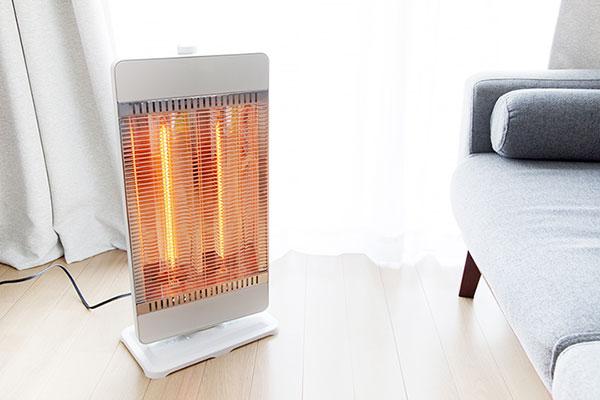 からだをあたためる暖房器具 セラミックファンヒーター(電気ファンヒーター)