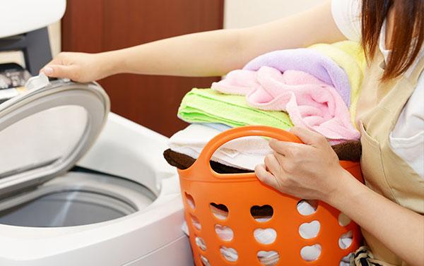 洗濯機の選び方 容量は人数分より大きめで考える