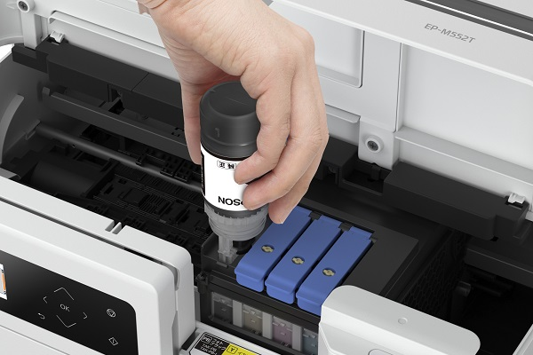 プリンターの選び方 インクの方式はおもに2つ 印刷コストが安いエコタンク