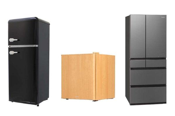 冷蔵庫選びのポイント③見た目や便利機能 デザインで決める
