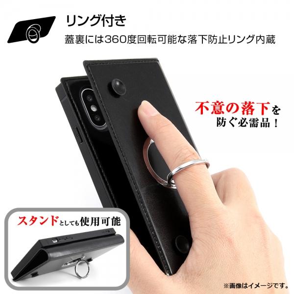 手帳型 耐衝撃レザーケース「KAKU(カク)」リング付の特徴